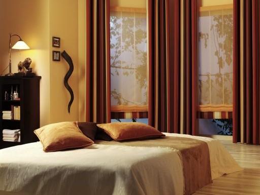 sypialniane rolety rzymskie